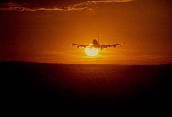 Sunset 747