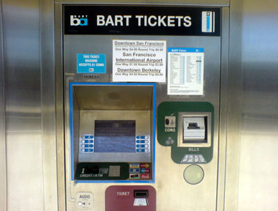 BART Ticket Machine
