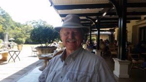 Jack at Royal Livingstone on Banks of the Gambezi River